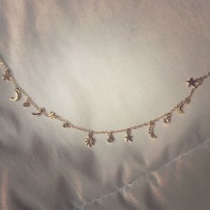 Beautiful star/moon necklace